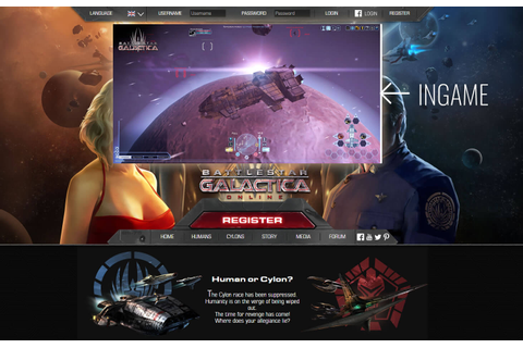 Battlestar Galactica Online - Space shooter MMO