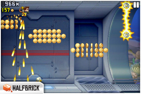 Jetpack Joyride: my machine gun is a jet pack, your ...