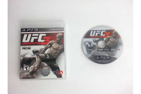 UFC Undisputed 3 game for Playstation 3 | The Game Guy