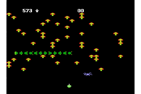 Game review: Atari's Centipede for #Atari 5200