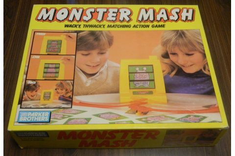 Monster Mash Board Game Review | Geeky Hobbies