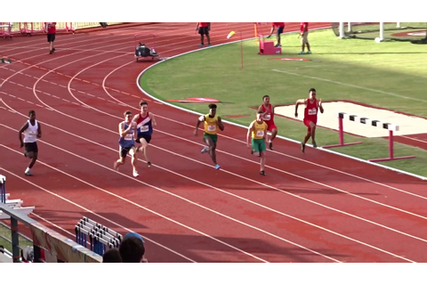 100m U18yrs Men Final, Korman Stadium, Melanesian Games ...