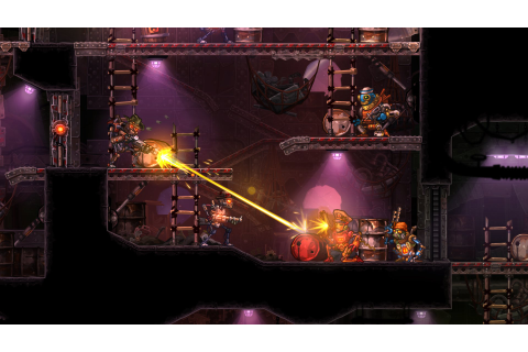 Review: SteamWorld Heist