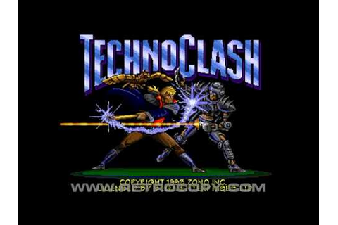 Techno Clash (Sega Genesis / Mega Drive) Intro - YouTube