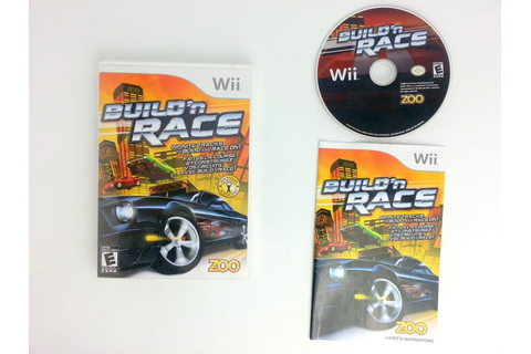 Build 'N Race game for Wii (Complete) | The Game Guy