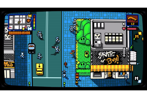 Retro City Rampage DX Review – Brash Games