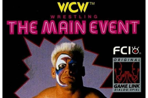 WCW: The Main Event - WWE Games Database