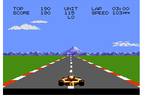 Play Pole Position II Atari 7800 online | Play retro games ...