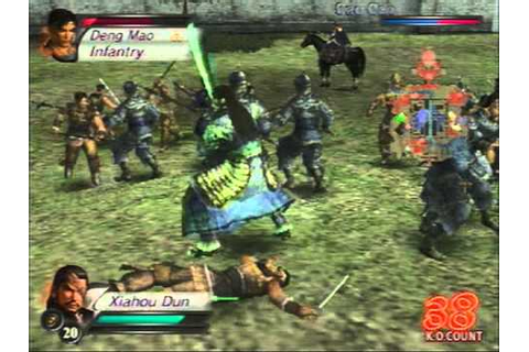 [PS2] Dynasty Warriors 4 Gameplay - YouTube