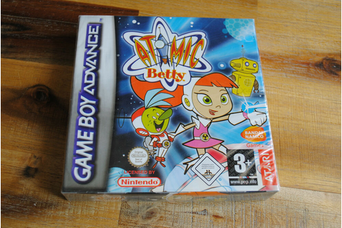 Jeu ATOMIC BETTY pour Nintendo Game boy Advance NEUF sous ...