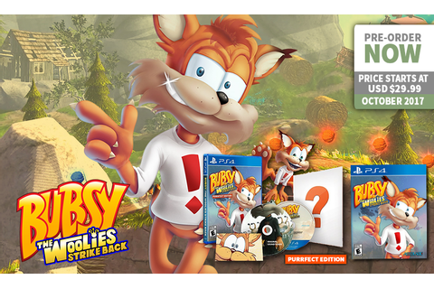 The '90s Classic Mascot Has A Comeback With Bubsy: The ...