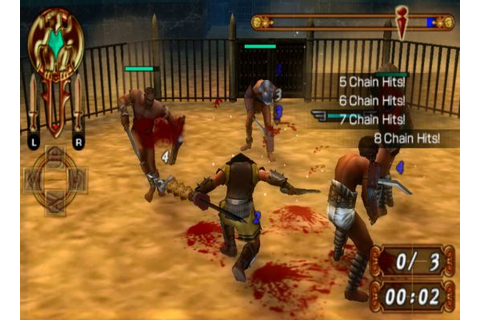 Gladiator Begins Free Games For Playstation Portable (PSP ...
