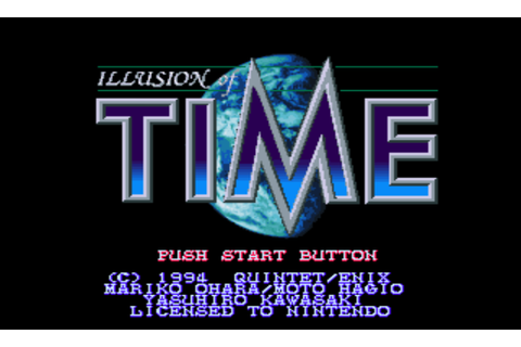 Illusion of Time (Europe) ROM