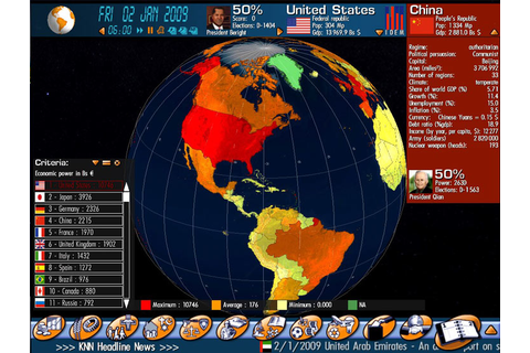 Geo-Political Simulator, aka G.P.S., is an economic and ...