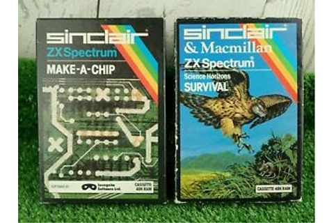 Sinclair ZX Spectrum 48K Games Make-A-Chip & Science ...