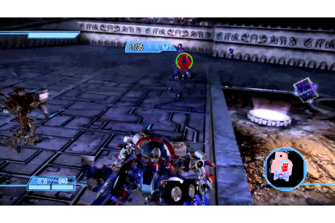 Transformers: The Game Walkthrough: Autobots - Cybertron ...