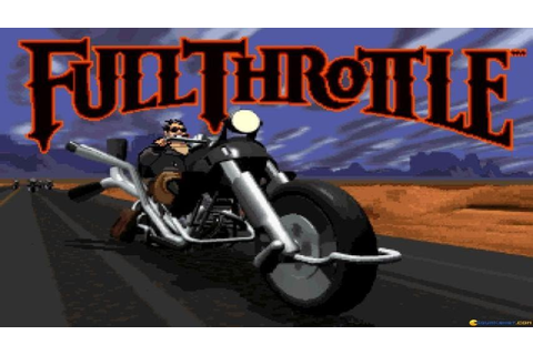 Full Throttle gameplay (PC Game, 1995) - YouTube