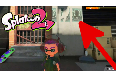 Splatoon 2 Octo Expansion Easter Eggs Already In The Game ...