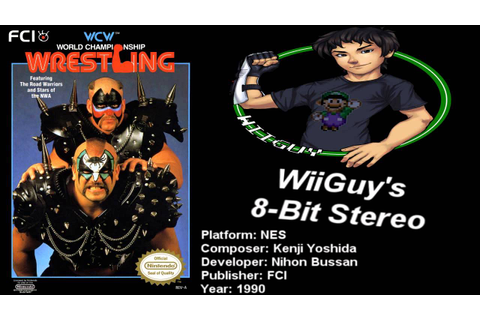 WCW World Championship Wrestling (NES) Soundtrack ...