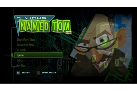 Virus Named Tom, A Download (2012 Puzzle Game)