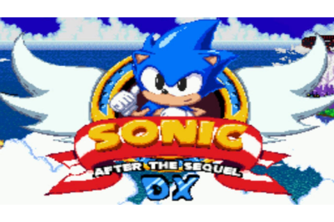 Sonic After the Sequel DX: Classic Mode - Horizon Heights ...