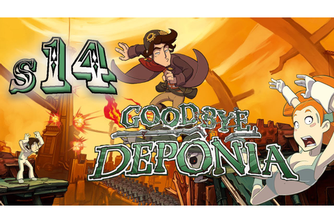 Goodbye Deponia S14 - A Game of Operation! - YouTube