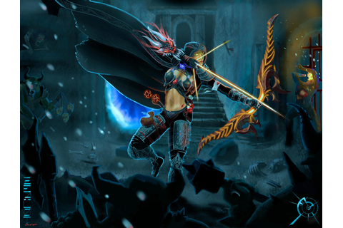 Diablo 3 Demon Hunter Game Play by zealotart on DeviantArt