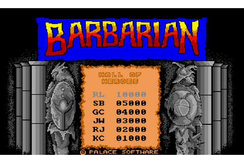 Barbarian: The Ultimate Warrior : The Company - Classic ...