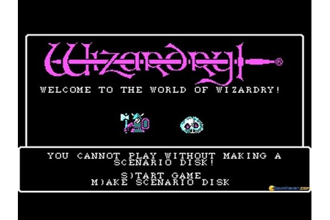 Wizardry I: Proving Grounds of the Mad Overlord gameplay ...
