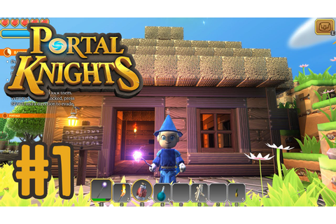 Let's Play Portal Knights!! - I'M A WIZARD!! - YouTube