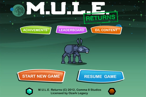 M.U.L.E. Returns Will Harvest Next Week for iOS | DualShockers
