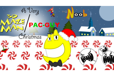 3D Maze Man & Pac Guy Christmas, ThuN00b Review - YouTube