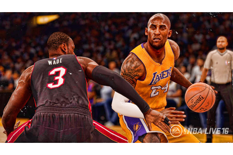 NBA LIVE 16 - Official Leaked Kobe Bryant Game Winner ...