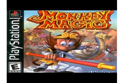 Monkey Magic Game Review (PS1) - YouTube