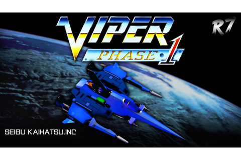Viper Phase 1 | Arcade | Longplay | HD 720p 60FPS - YouTube