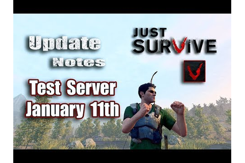 Just Survive Game Play | Live Mic | Test Server Update ...
