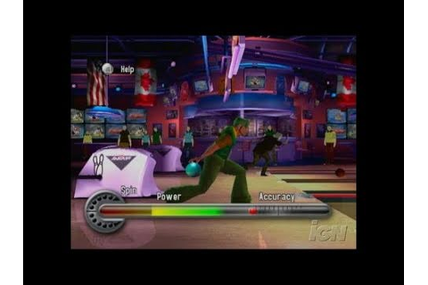 AMF Xtreme Bowling 2006 PlayStation 2 Gameplay - - YouTube