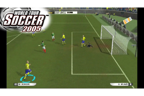 World Tour Soccer 2005 ... (PS2) - YouTube