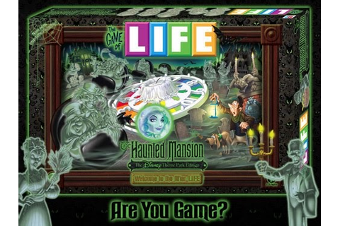 Haunt Style: The Game Of LIFE (Haunted Mansion Edition)
