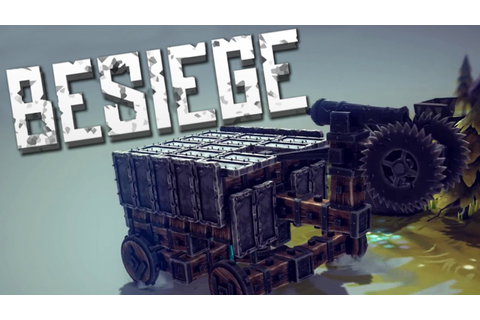 THE CUBE OF DEATH - Besiege Alpha - YouTube
