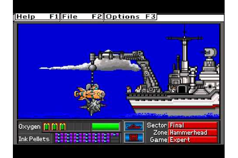 Operation Neptune (DOS): Part 9, Expert Game - YouTube