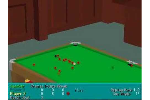 Virtual Snooker - Game Play - YouTube