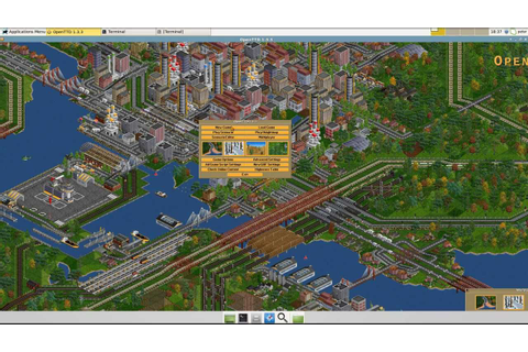 Setup Free Simcity Like Game on Linux Mint - YouTube