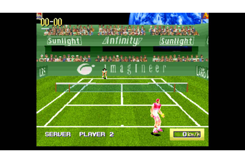 Virtual Open Tennis Gameplay - YouTube