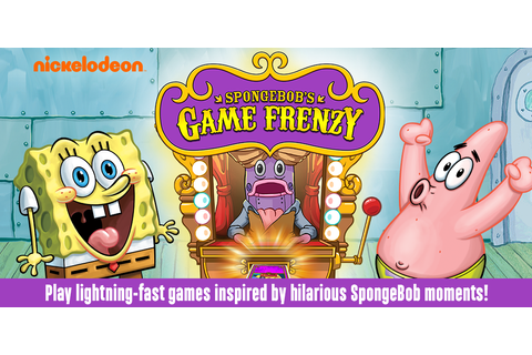 SpongeBob's Game Frenzy: Amazon.com.au: Appstore for Android