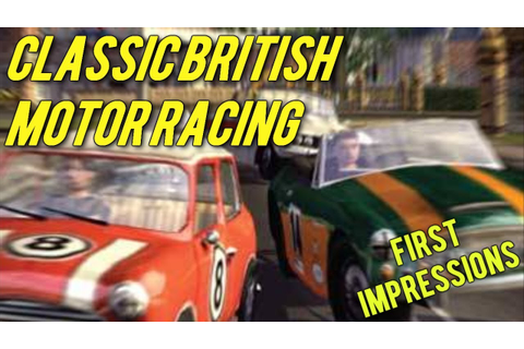 Crappy Wii Games: Classic British Motor Racing - YouTube