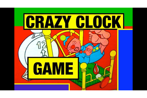 Crazy Clock Game Mousetrap Toy Review by Mike Mozart of ...