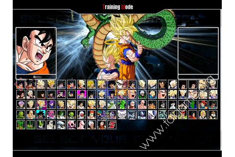 Dragon Ball Z MUGEN Edition 2013 - Download Free Full ...