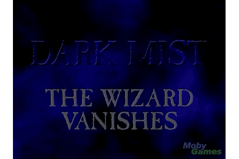 Download Dark Mist: The Wizard Vanishes (Mac) - My Abandonware