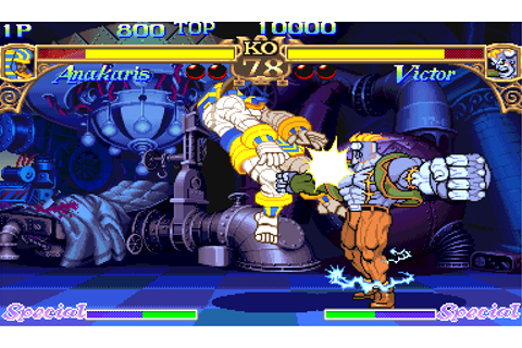 Play Arcade Darkstalkers - the night warriors (940818 USA ...